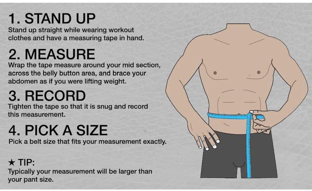 Weight Lifting Belt Size