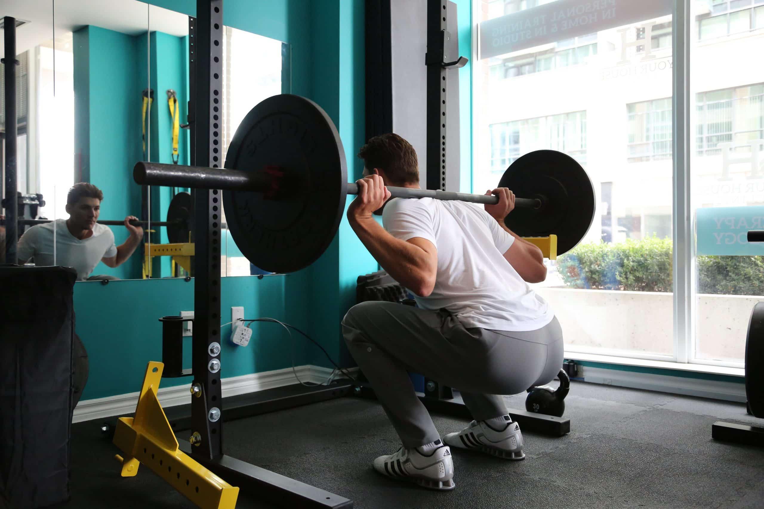 home gym squat