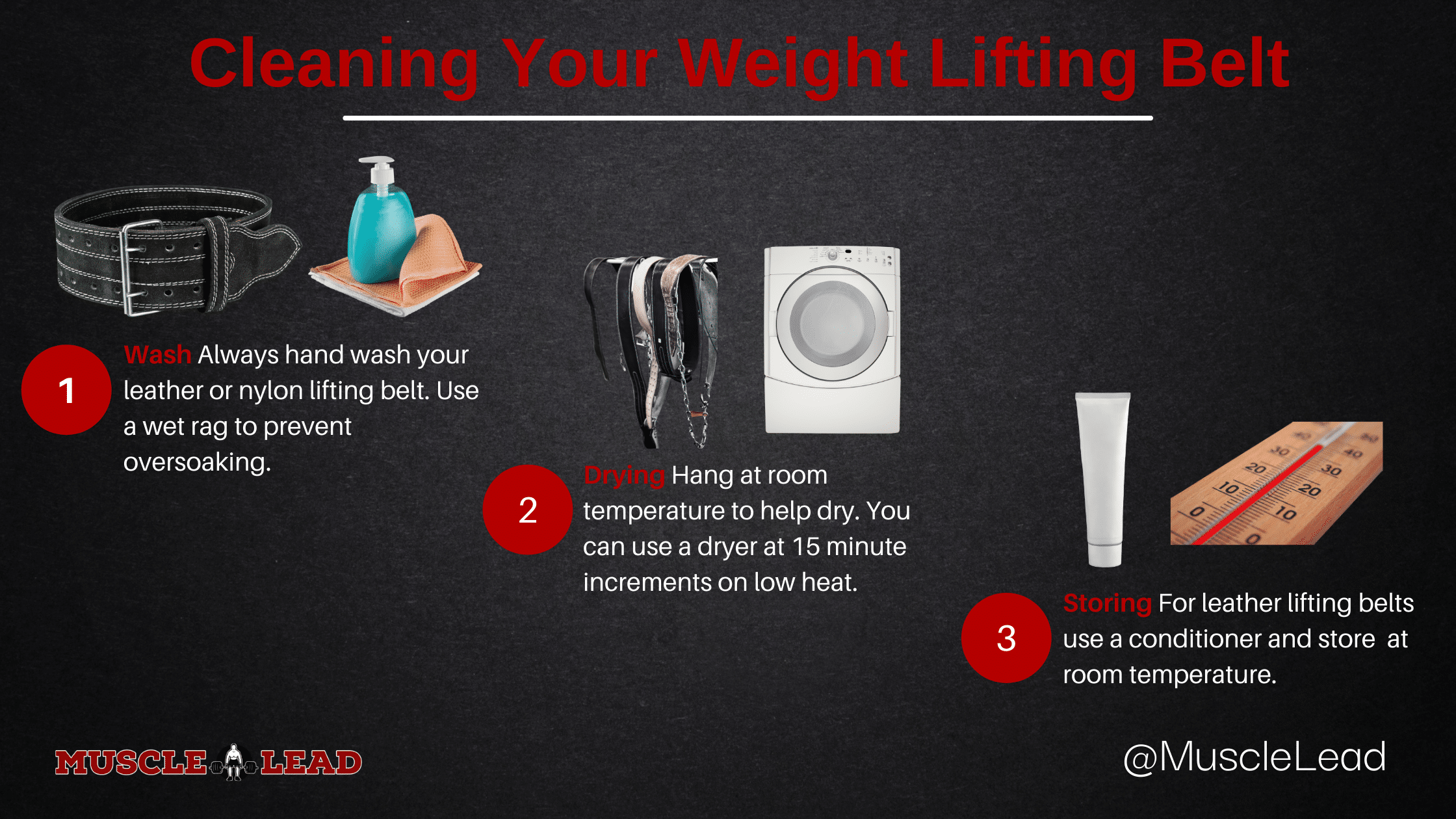 How to care for your lifting belt