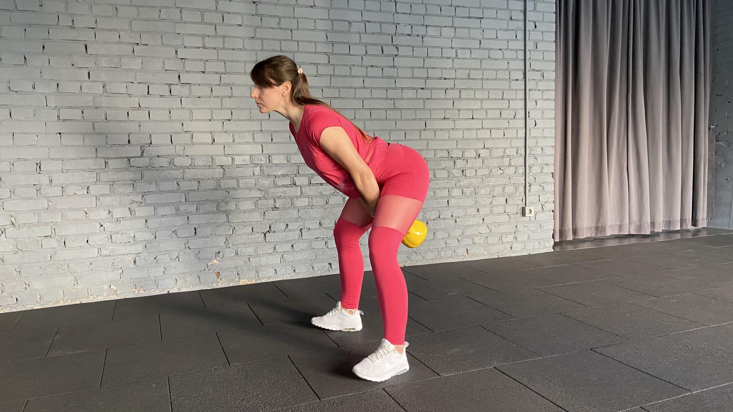 Step 2_Hip Hinge Kettlebell swings everyday